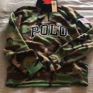 Men's Polo Ralph Lauren camo pullover size medium